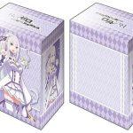 【デッキケース】エミリア(Part.2)のブシロードデッキホルダーコレクションが「ブースターパック リゼロ Vol.2」と同時発売!