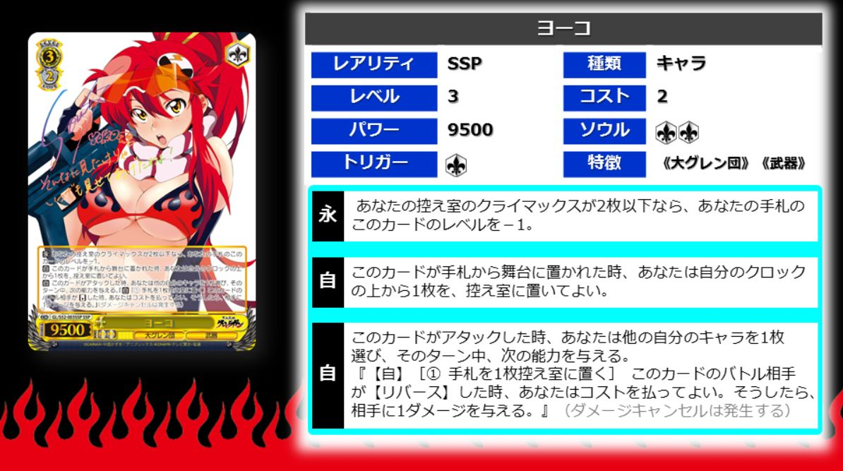 ヨーコ(WS「天元突破グレンラガン」収録SSP スーパースペシャル)高画質版