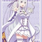 【スリーブ】エミリア(Part.4)のブシロードスリーブコレクションHGが「ブースターパック リゼロ Vol.2」と同時発売!