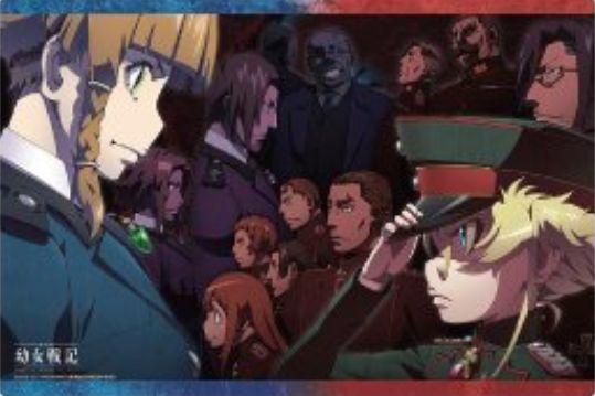 【サプライ】劇場版幼女戦記のスリーブ&ラバーマットが2019年5月24日に発売決定!