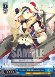 Commandant Teste(WS「TD+ 艦隊これくしょん -艦これ-」収録トリプルレアRRRパラレル)
