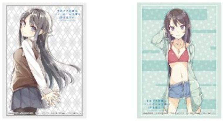 【サプライ】桜島麻衣(青ブタ)のスリーブ&デッキホルダー&ラバーマットが2019年9月6日に発売決定!