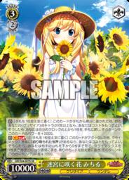 迷宮に咲く花 みちる:スーパーレアSRパラレル(WS「BP グリザイアの果実 Vol.2」収録)