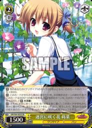 迷宮に咲く花 蒔菜:スーパーレアSRパラレル(WS「BP グリザイアの果実 Vol.2」収録)