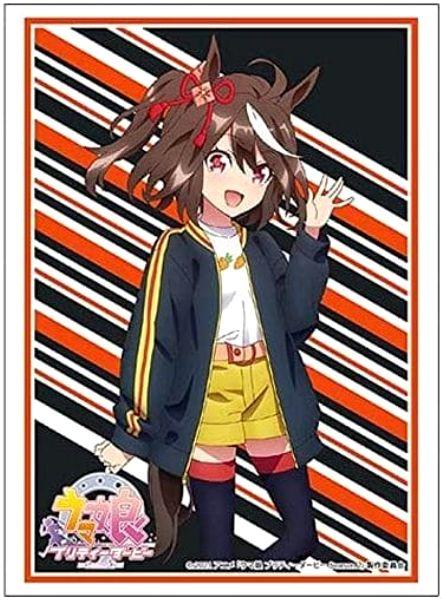 【スリーブ】キタサンブラック(TVアニメ ウマ娘 プリティーダービー Season2)のスリーブが2021年10月15日に発売!最安価格で販売しているネット通販ショップは?